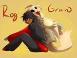 Commission: Rog and Gran by Whitelupine