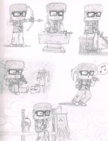Minecraft Sketch Dump by BrotherGrapefruit