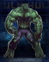 THE INCREDIBLE HULK by JamesCreations