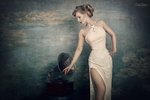 glamour meets impressionism no.4 by snottling1
