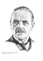 Anthony Hopkins by TempleRaven44