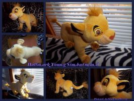 2005 Mini Hallmark Young Simba by DoloAndElectrik