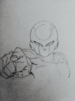 Frieza WIP by TheLegacyOfJP