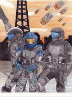 ODSTs by ComandanteElite