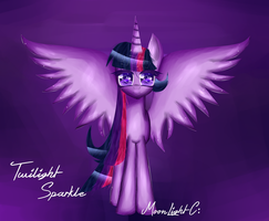 Twilight Sparkle Alicorn by iMoonLiight