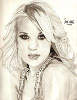 Carrie Underwood by Shigdioxin