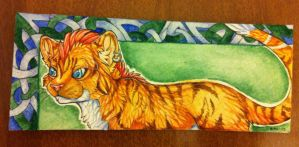 Bookmark commission one by nightspiritwing