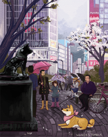 Hachiko by whinges
