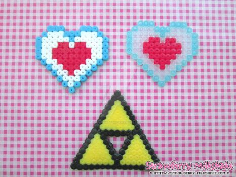 Video Game Hama: *Legend Of Link* Collectibles by FiyahKitteh