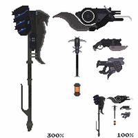 Brute Weaponry from Halo 3 by Pwnisim