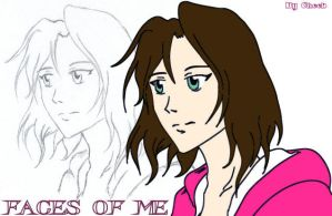 Faces of Me by cheeb