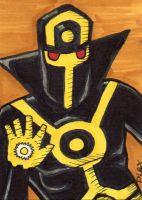 The Occultist sketch card Commission by MarshallPlex