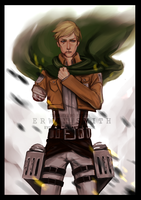 [CHAPTER 49 SPOILERS] ERWIN SMITH by Evurinn