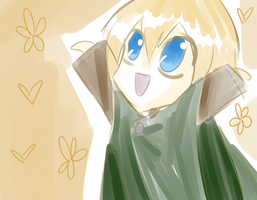 Happy Armin is Happy by THEChazzPrince
