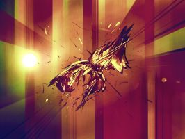 Abstract Rage by moonburst23