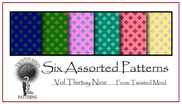 Twisted Mind Assorted Pattern Set 39 by Textures-and-More