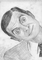 Charcoal - Mr. Bean by Gossepojk