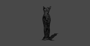 MORTICIA INSPIRED DRESS by Oo-FiL-oO