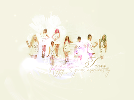 Happy 3 years anniversary - T-ara by Jirushine5876
