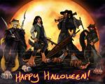 Halloween 2015 - Hunters by ZaidaCrescent