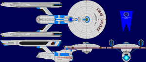 USS Hyperion TMP Multi-View by captshade