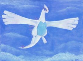 Lugia Painting by Articuno