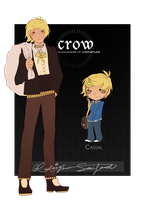 crow: raleigh sanford by kiramemo