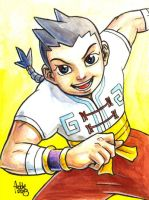 Sketchcard Power Stone Wang Tang by fedde