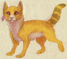 Yellow Kitty by Moldovorot
