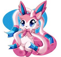 Sylveon, Jewelpet Version by TheOrangeFactor