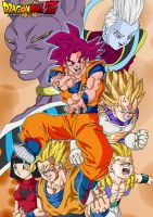 Dragon Ball Z kami to kami by bloodsplach