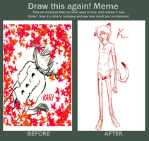 Draw this again - Kari by TheJokersCards
