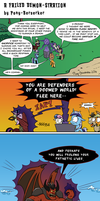 A Failed Demon-stration by Pony-Berserker