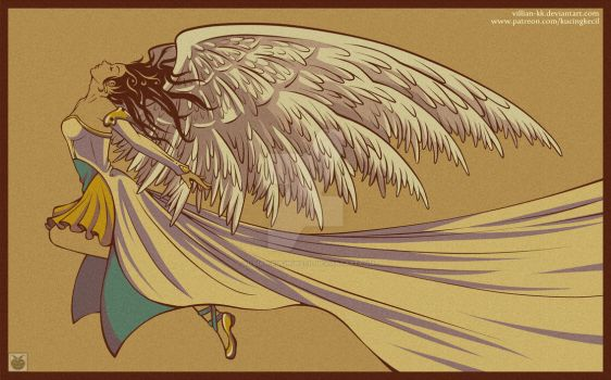The Angel - commission by Villian-KucingKecil
