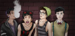 Hipster High by AMGKatt
