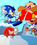 Sonic+3 Asses - Triple Trouble by JamesmanTheRegenold