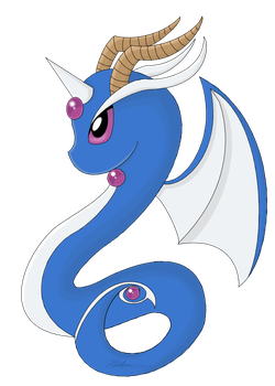 What Dragonite Should Have Been  by Shellythewolf1