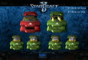 Starcraft 2 - Terran by sntxdesign
