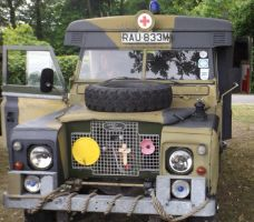 Land Rover Military Ambulance 1 by Dan-S-T