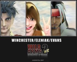 Wild Arms 2 EX by HNDRNT26
