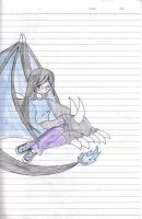 Me and my dragon by Delta-Frontier
