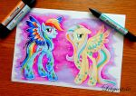 Rainbow Power Pegasus by LtiaChan
