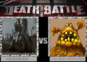 Death Battle: Hedorah vs The Great Mighty Poo by Sideswipe217