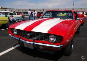 Chevy Camaro SS 396 by E-Davila-Photography