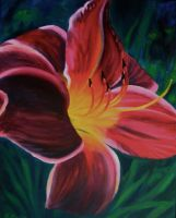 Daylily 3 of 3 by TernFeather