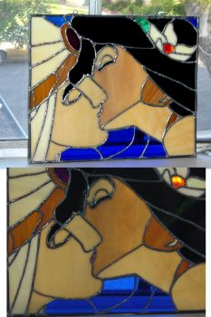 Aladdin Stain glass by surfmermaid87