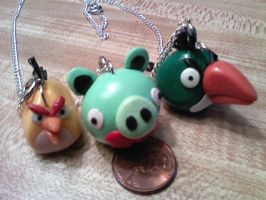 Angry Birds necklace5 by LRK-Creations
