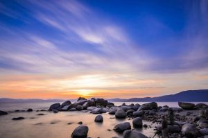 Sunset at Lake Tahoe by prateekverma23