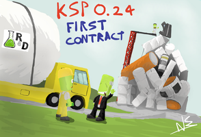 KSP 0.24 : First Contract by nemecle