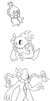 Who's that Fakemon? It's Noospook, Noospirit and.. by Trueform